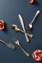 Anthropologie Etched Lines Flatware