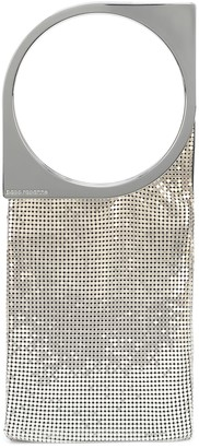 Paco Rabanne Op'Art chainmail tote