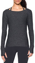 Under Armour Solid Heathered Swing Top
