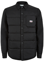 Penfield Albright Down Insulated Shirt Jacket, Black
