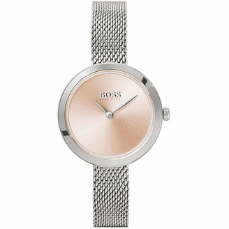HUGO BOSS Women's Analogue Quartz Watch with Stainless Steel Strap 1502525