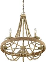 Savoy House Darla 5-Light Chandelier in Natural Wood