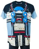 Givenchy Men's Multi Color Transformer Graphic T-shirt Size L~rtl$895~nib.