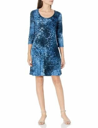 Karen Kane Women's 3/4 Sleeve A LINE Dress