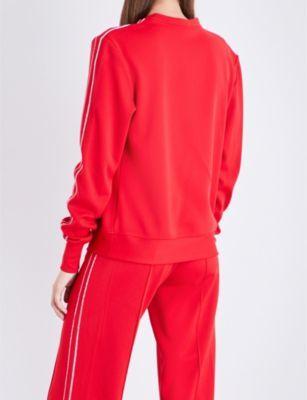 Area Bell boyfriend-fit jersey sweatshirt