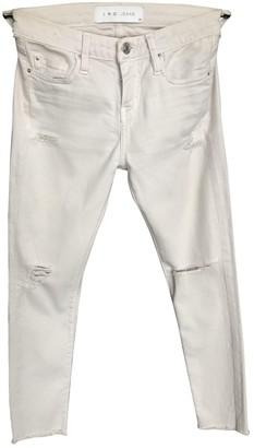 IRO Beige Cotton - elasthane Jeans
