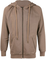 Amen zipped hoodie - men - Cotton - 46
