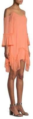 Alice + Olivia Ilaria Cold Shoulder Dress