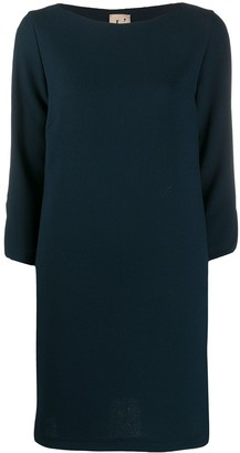 L'Autre Chose Three-Quarter Sleeve Dress