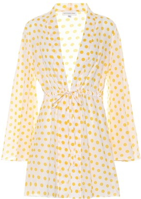 Exclusive to Mytheresa Betty polka-dot cotton cover-up