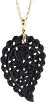 Tamara Comolli Large Black Onyx Carved India Pendant