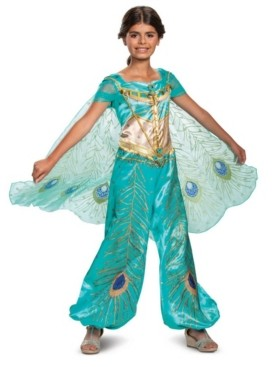BuySeasons Disney Big Girls Jasmine Deluxe Costume