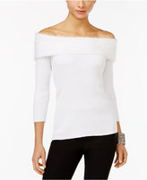 NY Collection Marilyn Off-The-Shoulder Top