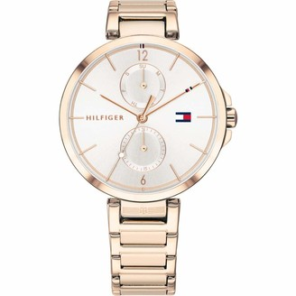 Tommy Hilfiger Women's Multi Dial Quartz Watch with Stainless Steel Strap 1782124