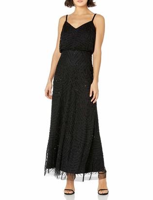 Adrianna Papell Women's Petite Long Blouson Dress