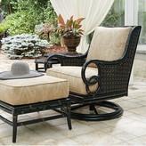 Tommy Bahama Marimba Swivel Rocker Lounge Patio Chair with Cushion Outdoor