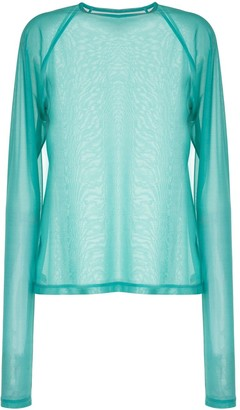 G.V.G.V. Sheer Long-Sleeve Top