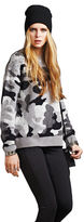Dex Camouflage Sweater with Spike Accents