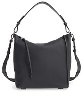 AllSaints 'Kita' Leather Shoulder/crossbody Bag - Black