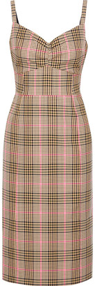 Baum und Pferdgarten Adell Gathered Checked Jacquard Dress