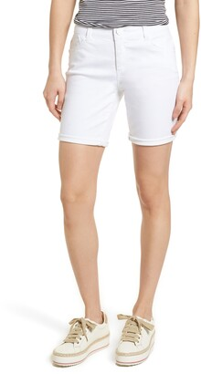 Wit & Wisdom Ab-Solution White Denim Shorts