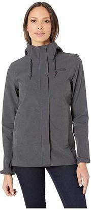 The North Face Apex DryVenttm Jacket (TNF Dark Grey Heather/TNF Dark Grey Heather) Women's Coat