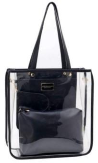 Like Dreams Clear Top Handle Tote Bag