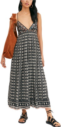 Free People Good Vibes Sleeveless Midi Dress