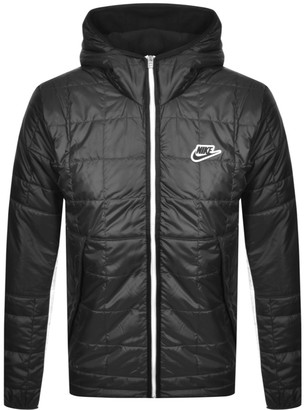 Nike Synthetic Fill Hooded Jacket Black