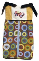 Kimberly Grant Crown Crafts Diaper Stacker Zoom Zoom
