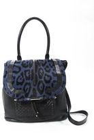 Barbara Bui Navy Air Tote Handbag $1115 90085368