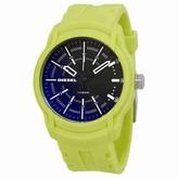 Diesel Armbar Black Dial Men's Neon Green Watch DZ1821