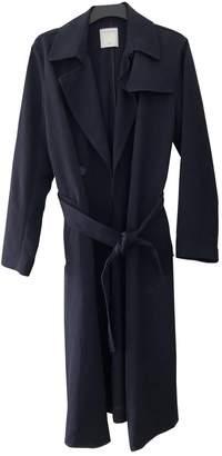 Sandro Spring Summer 2020 Navy Coat for Women