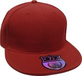 KNW-2364 DGY The Real Original Fitted Flat-Bill Hats by KBETHOS True-Fit, 9 Sizes & 20 Colors