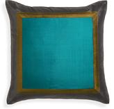 Jonathan Adler Bluebird Siam Silk Pillow