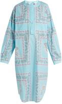 Natasha Zinko Geometric paisley-print cotton shirtdress