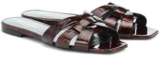 Saint Laurent Nu Pieds 05 patent leather sandals