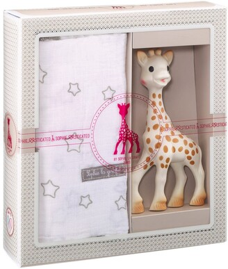 Sophie la Girafe 'Sophiesticated' Swaddling Cloth & Teething Toy