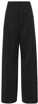Jil Sander High-rise wool wide-leg pants