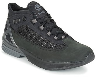 Timberland KENETIC FABRIC/LEATHER men's Shoes (High-top Trainers) in Black