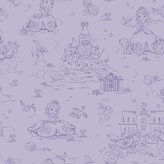 York Wall Coverings York wallcoverings Disney's Sofia the First Toile Removable Wallpaper