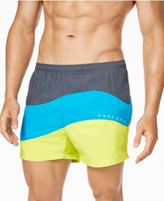 HUGO BOSS Men's Butterflyfish Colorblocked Swim Trunks