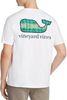 Vineyard Vines Crewneck Short Sleeve Football Field Graphic Tee