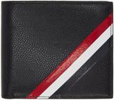 Thom Browne Black Diagonal Stripe Bifold Wallet