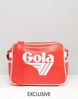 Gola Classic Redford Messenger Bag In Red