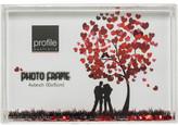 "Profile Acrylic Photo Frame Snowglobe 4 x 6"" / 10 x 15cm"