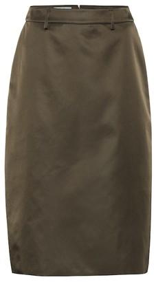 Prada Nylon-gabardine pencil skirt