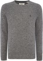Original Penguin Men's Lambswool Crew-Neck Knitted Jumper