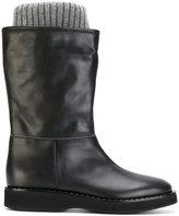 Fabiana Filippi sock-lined boots