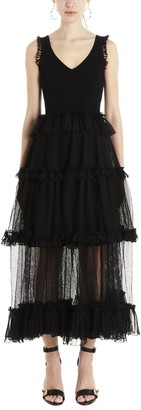 Alexander McQueen Layered Sleeveless Dress
